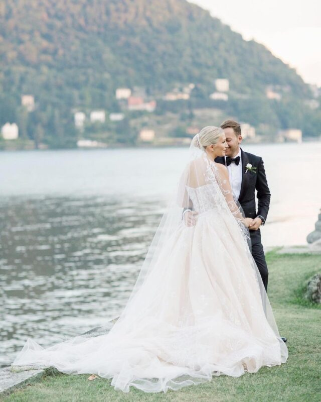 Cannot wait to celebrate couples again 🤍 love these photos by @ktmerry from one of our weddings at @villaerbaofficial  @sarahoxhaaa #lakecomowedding #lakecomoitaly #lakecomoweddingplanner #weddingsinitaly